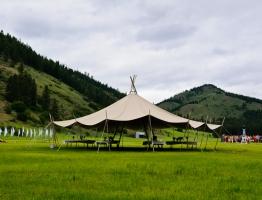 Spring at Skalitude - the Sky Lodge.