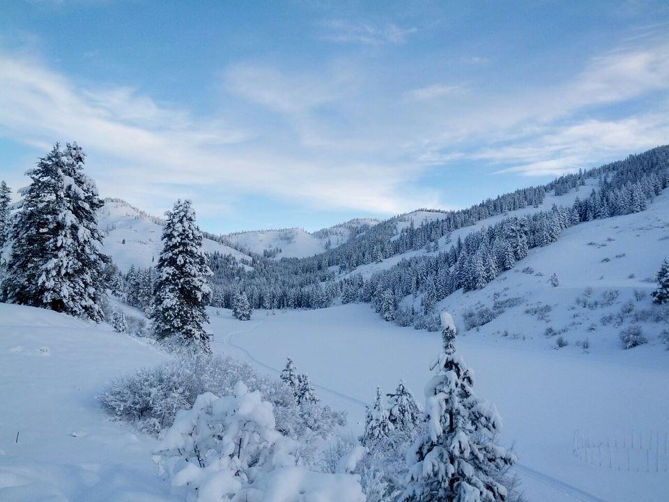 skalitude retreat center winter recreation