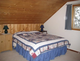 Upstairs Lodge bedroom