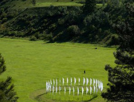Flag Circle from above