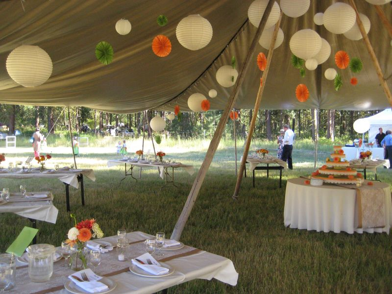 Outdoor Wedding Venues Washington State: Camping Wedding Venue